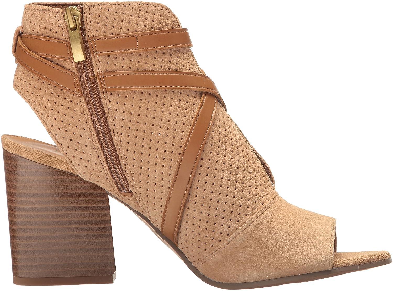 Franco Sarto Fashion Women's Fantana Fashion Sarto Boot B01L7X90YU 7.5 Medium US|Dark Camel 7b6d73