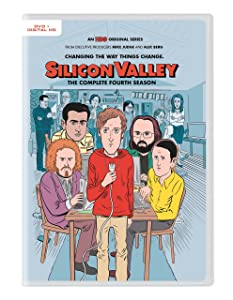 Silicon Valley: S4 (Digital HD + DVD)