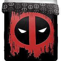 Jay Franco Deadpool Invasion Full/Queen Reversible Comforter (Offical Marvel Product)