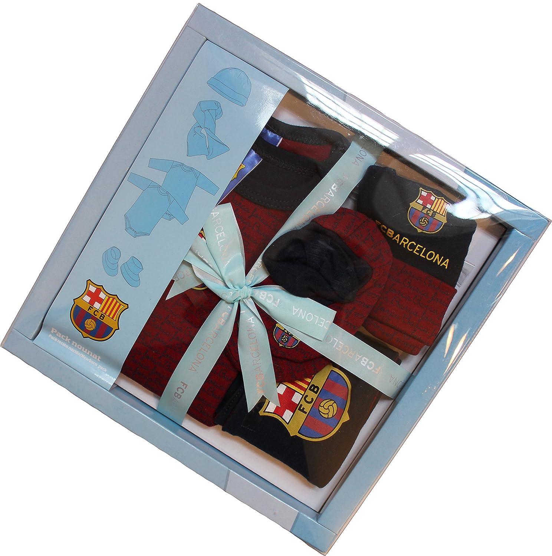 FC Barcelona Set de Regalo para bebé, colección Oficial, con Bufanda ...