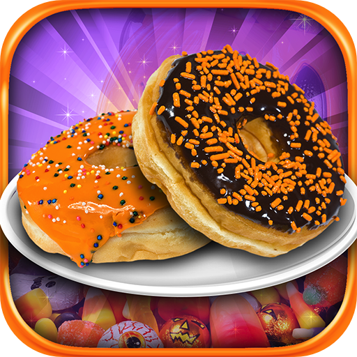 Halloween Donut Maker - Kids Candy Dessert Cooking Game -