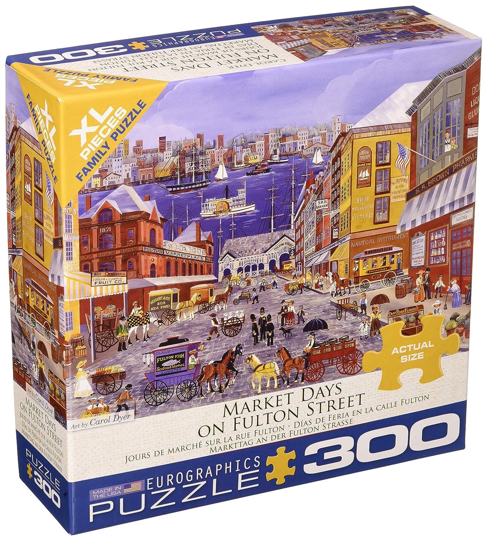 Eurographics 83005384 Fulton St. Puzzle, Varios: Amazon.es: Juguetes y juegos