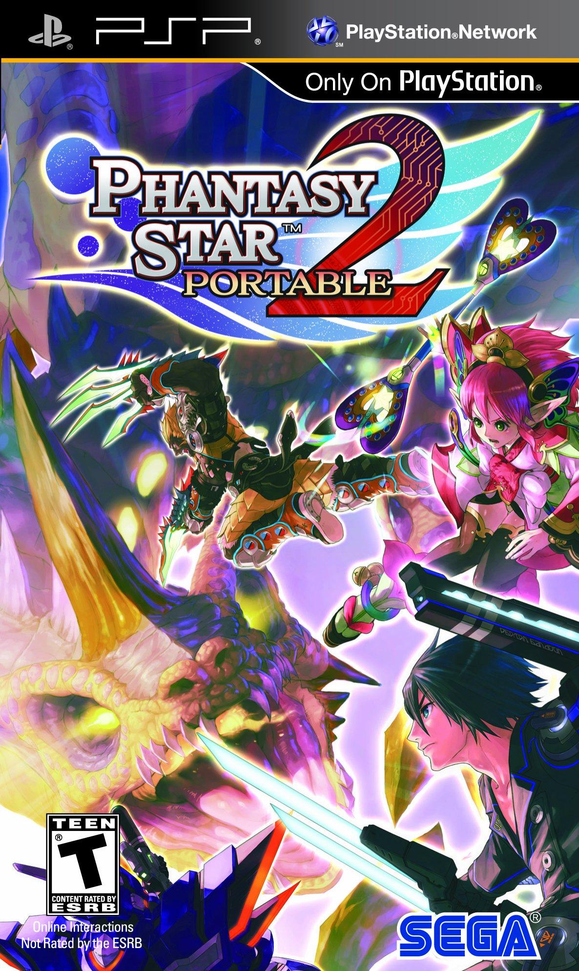Phantasy Star Portable 2 - Sony PSP