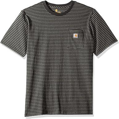 Carhartt Camisa de utilidades de Trabajo para Hombre: Amazon.es: Ropa y accesorios
