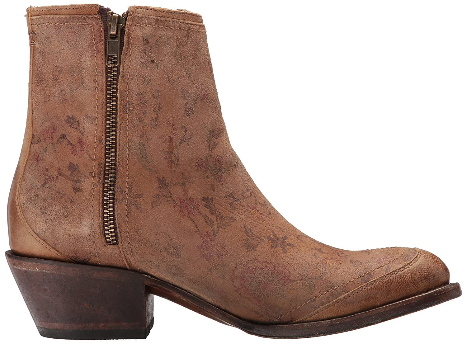 Lucchese Bootmaker Women's Gia Ankle Boot B0752YY9NW 9 B(M) US|Natural Printed