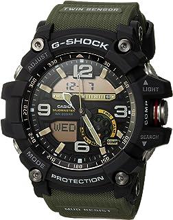 dc48804d0 Casio Men's GG-1000-1A3CR Mudmaster G-SHOCK Quartz Casual Watch, Green