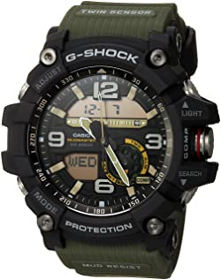 Casio Men's GG-1000-1A3CR Mudmaster G-SHOCK Quartz Casual Watch, Green