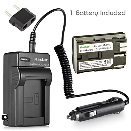 amazon com kastar battery 1 pack and charger kit for canon zr40 rh amazon com