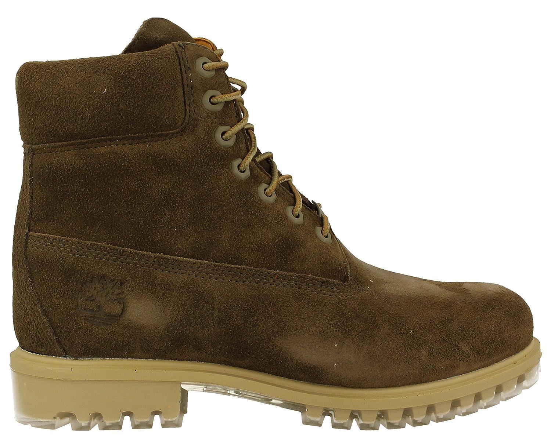 261b75d6 Timberland A18PZ Icon 6-inch Premium Boot Dark Olive Silk Suede, Botines  con cordones para hombre, 45: Amazon.es: Zapatos y complementos