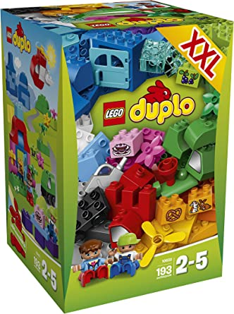 LEGO Duplo Caja Creativa Grande - Juegos de construcción (2 año(s), 193 Pieza(s), Niño/niña, 5 año(s), 2 Pieza(s)): Amazon.es: Juguetes y juegos