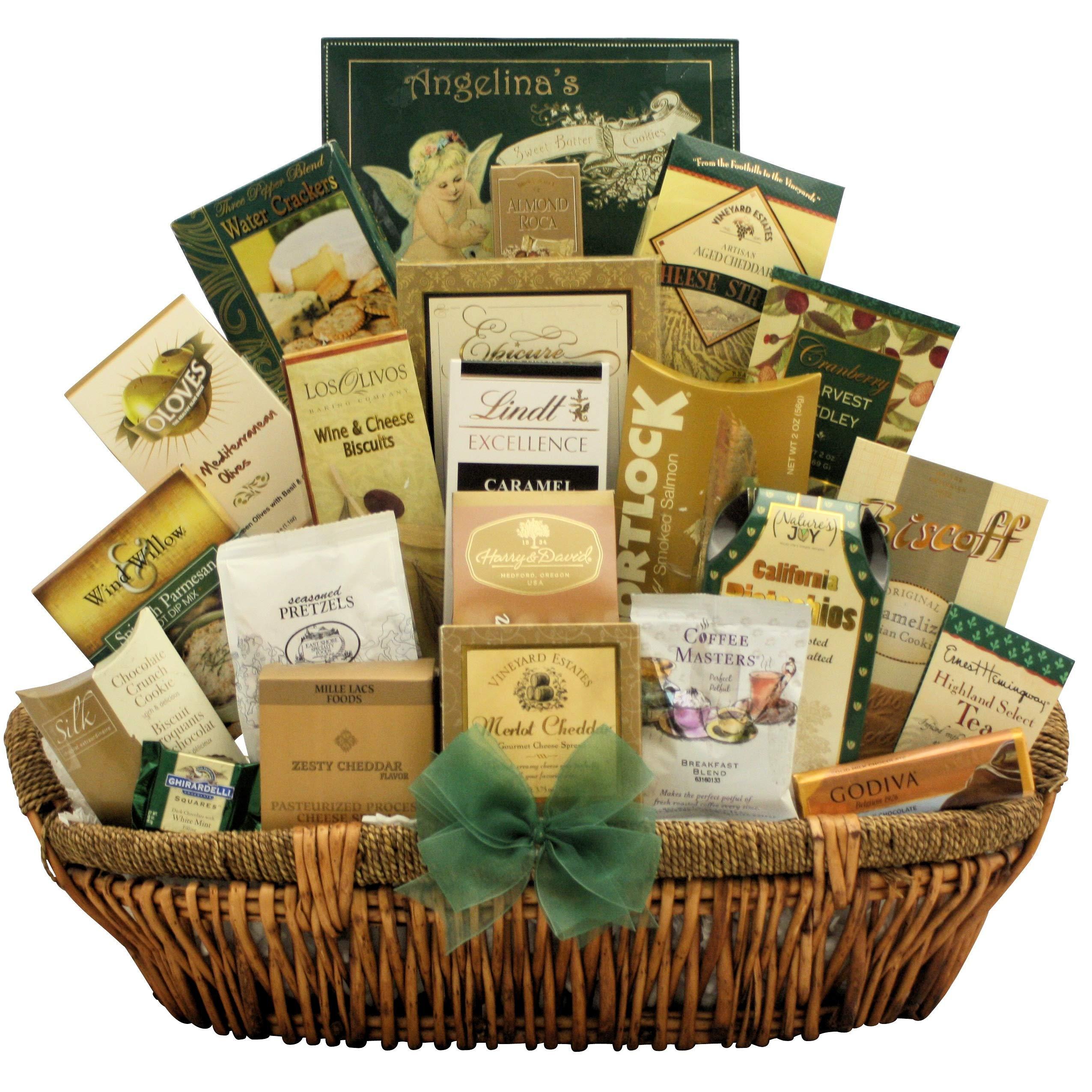 GreatArrivals Gallant Affair Gourmet Thank You Gift Basket, 10 Pound by GreatArrivals Gift Baskets (Image #1)