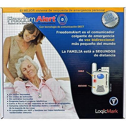 Amazon.com: Logicmark Freedomalert Spanish Speaking Emergency Help System: Health & Personal Care