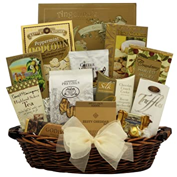 greatarrivals classic elegance gourmet holiday christmas gift basket