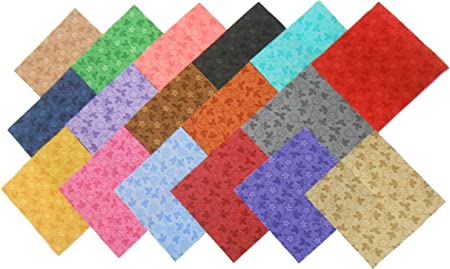 68 5 Inch Beautiful Vine Time Quilt Fabric Squares