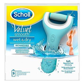 Scholl Velvet Smooth Pedi Wet Dry Elektrischer Hornhautentferner