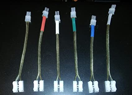 Buy Home Theater 4.2 mm Speaker Cable (Multicolour) 6 Pieces Online ...