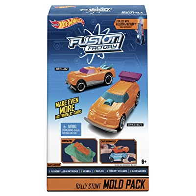 Hot Wheels Fusion Factory Rally Stunt Mold Pack: Toys & Games