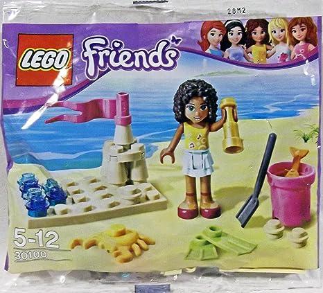 Amazoncom Lego Friends Beach 30100 Toys Games