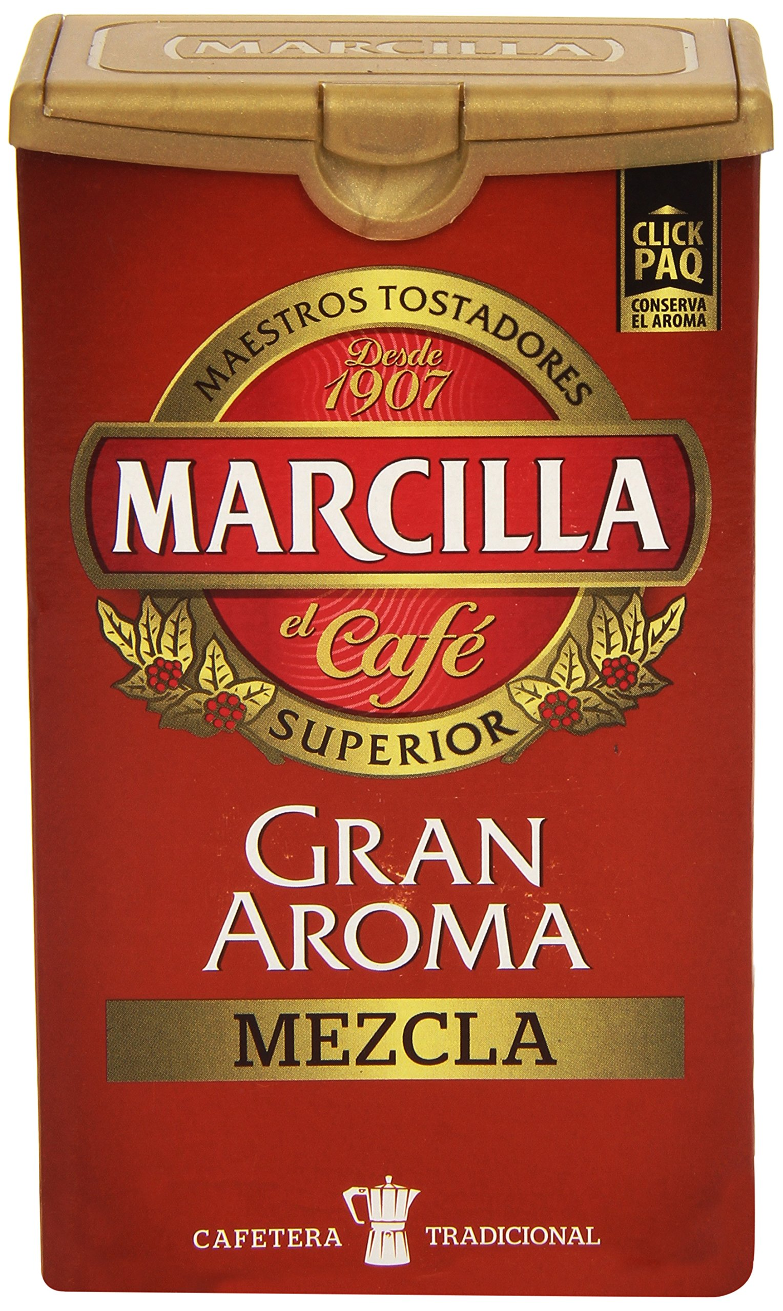 Marcilla - Gran Aroma Mezcla - gemahlener Kaffee - 250 gr