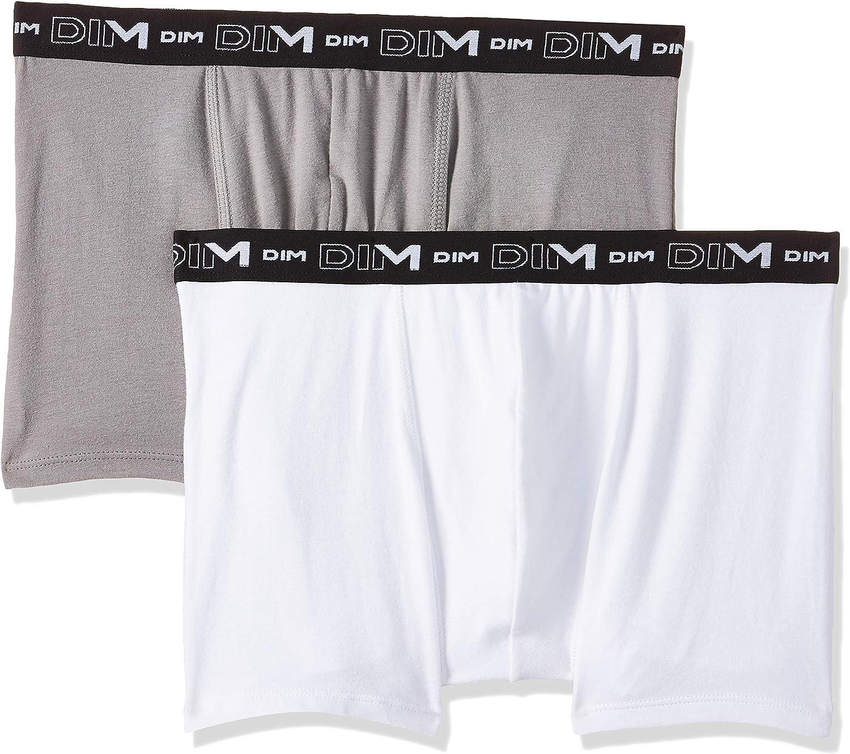 Dim Boxer Pack 2 Cotton Stretch: Amazon.es: Ropa y accesorios