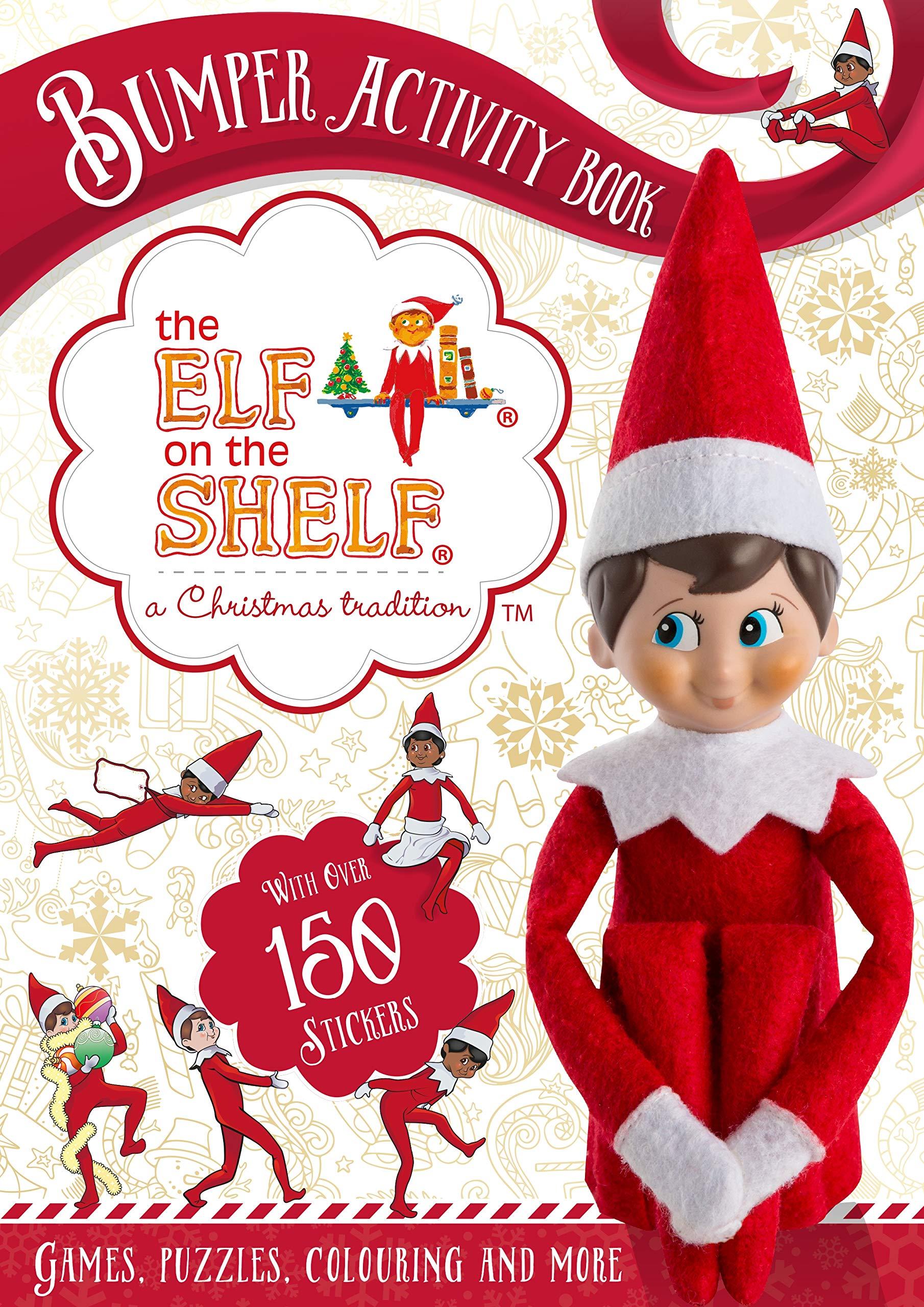 - The Elf On The Shelf Bumper Activity Book: The Elf On The Shelf