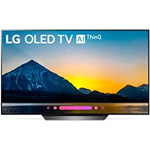 LG Electronics OLED65B8PUA 65-Inch 4K Ultra HD Smart OLED TV (2018 Model)