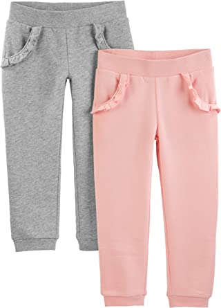 Pack of 2 Simple Joys by Carters Unisex Baby 2-Pack Pull on Pant