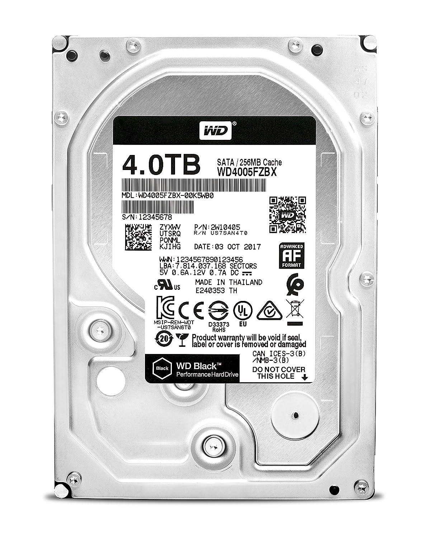 Wd Desktop Black 4 Tb Interne Festplatte Sata 6gb Amazonde