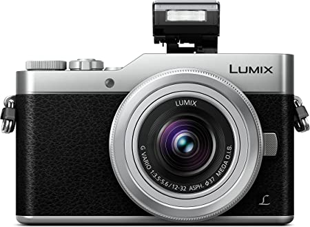 Panasonic Lumix Dc Gx800kegs Systemkamera Silber Kamera