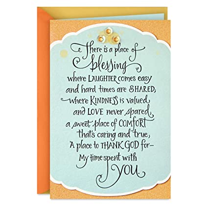 Happy Birthday Wife When I Tell You I Love You DaySpring Greeting Card
