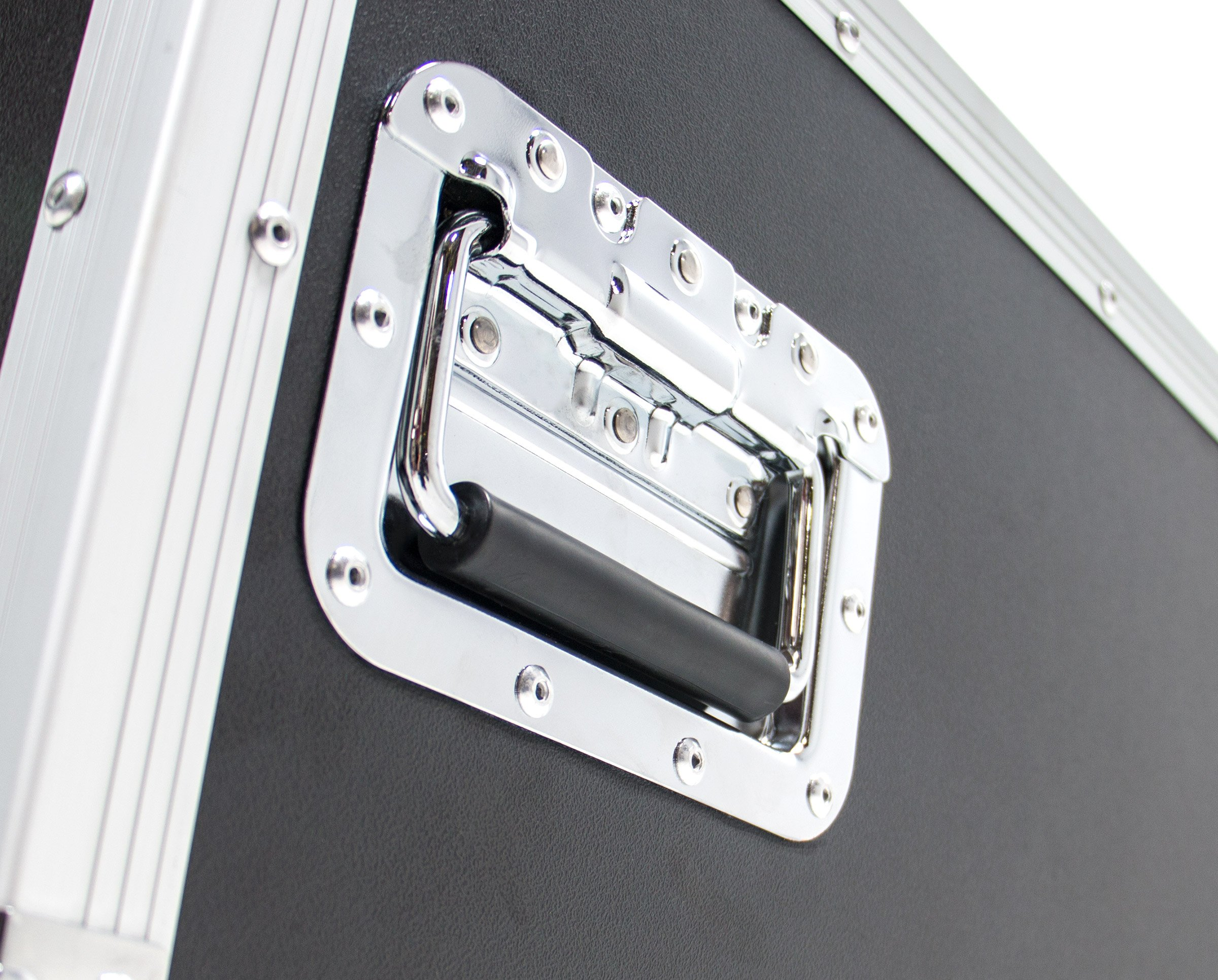 10 Space (10U) ATA Rack Effects Road Shock Mount Case (12'' Deep) by OSP (Image #5)