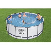 STEEL PRO FRAME POOL SET(POOL, FILTER PUMP, LADDER, GROUND CLOTH, COVER) 366X122CM -26-56420