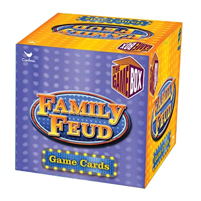 Family Feud Trivia Box Card Game: Toys & Games