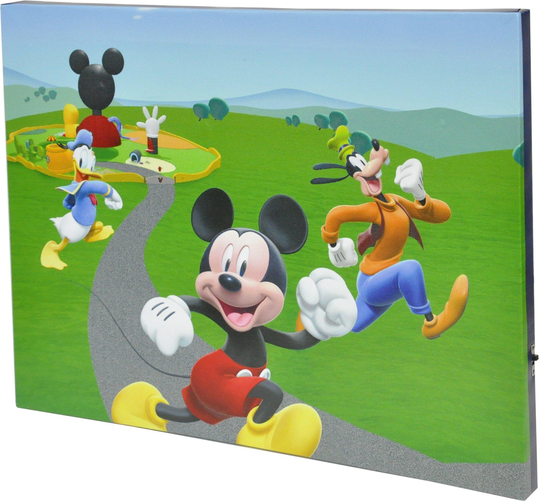 Disney Mickey Mouse Canvas LED Wall Art