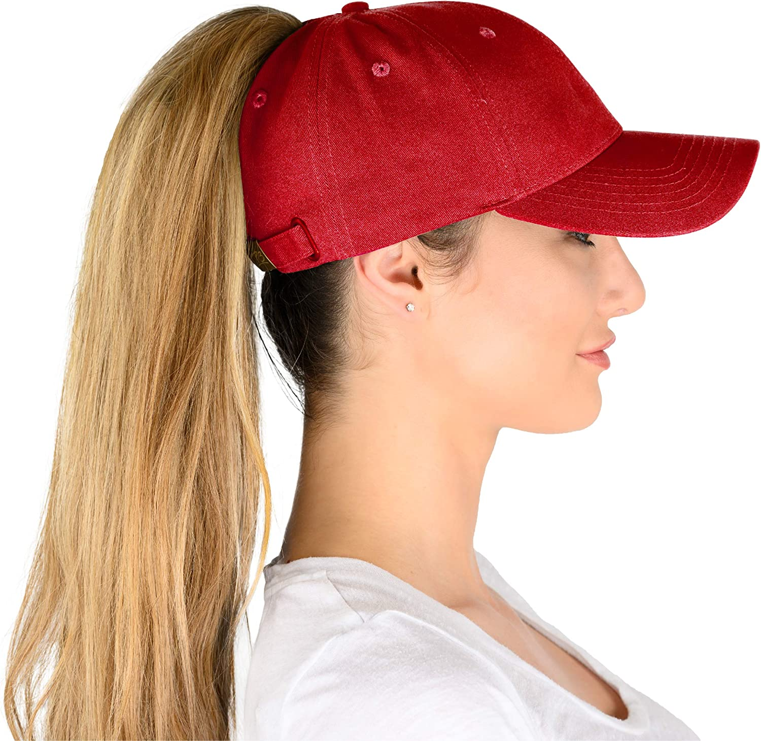 Phrase3 Ponytail Hat -...