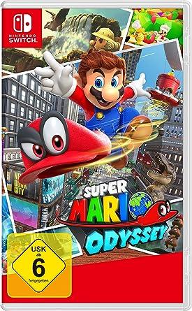 Super Mario Odyssey - Nintendo Switch [Importación alemana]: Amazon.es: Videojuegos