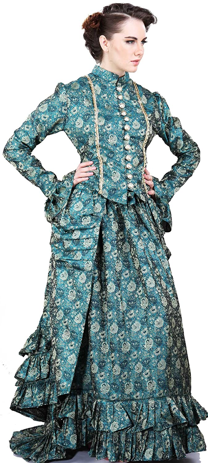 Steampunk Dresses | Women & Girl Costumes Steampunk Victorian Duchess Judith Skirt $169.95 AT vintagedancer.com