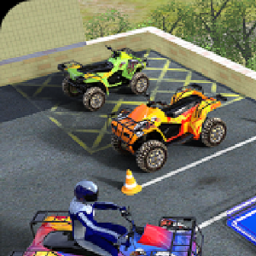 ATV Quad Bike Parking Simulator Games -