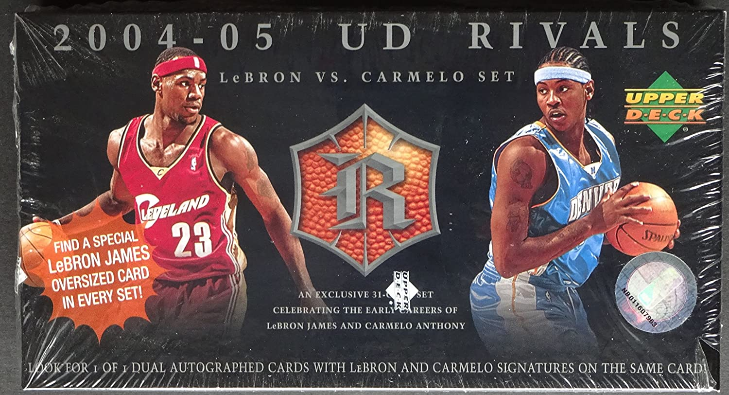 Upper Deck Rivals Lebron James vs. Carmelo Anthony Basketball Box Set 2004/05