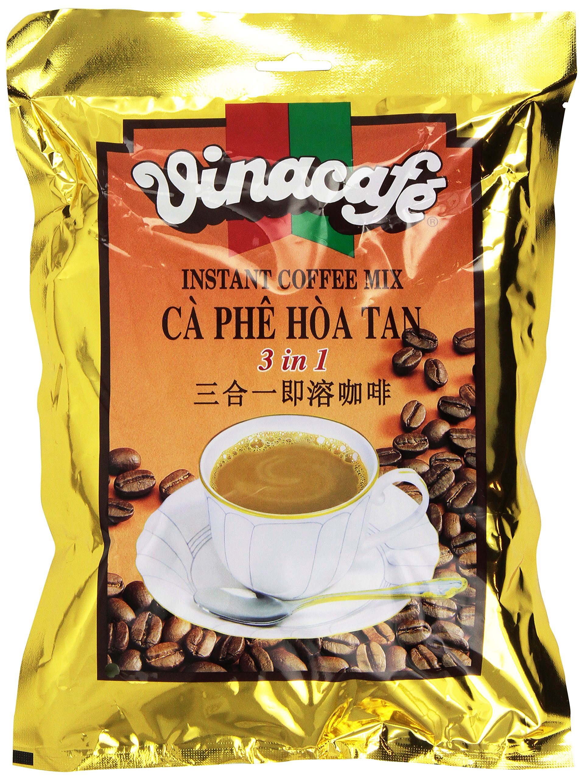 Vinacafe Instant Coffee Mix, 1-Pounds (Pack of 5) by Vinacafe
