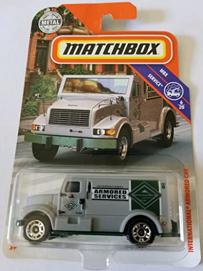 MATCHBOX 2018 MBX SERVICE INTERNATIONAL ARMORED CAR