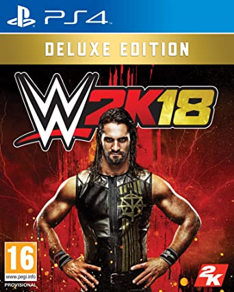Image result for wwe 2k18 ps4 deluxe edition