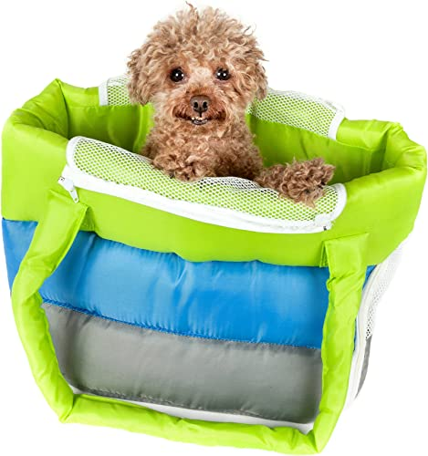 Bubble-Poly Tri-Colored Insulated Pet Carrier