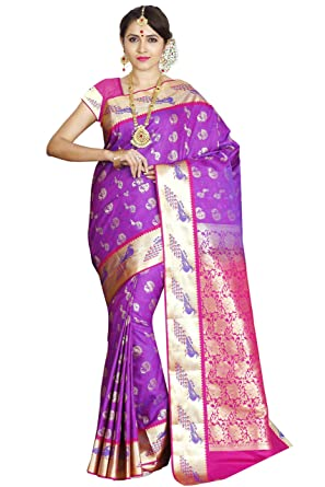 0a1a11231a Image Unavailable. Image not available for. Colour: arars Kanchipuram Silk  saree ...