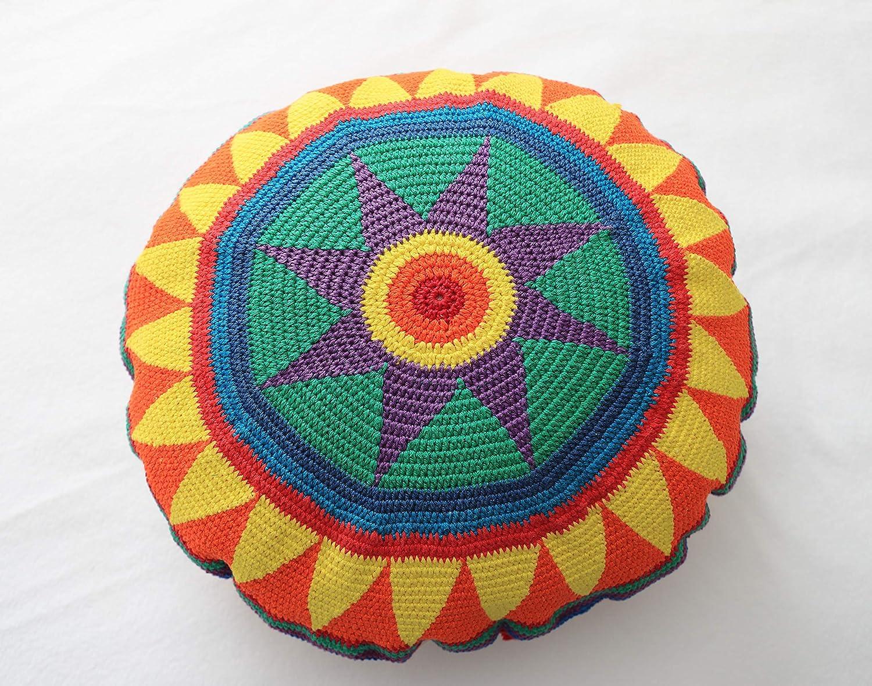 Amazon.com: Cojín, forma redonda, 18.0 in de diámetro, 100 ...