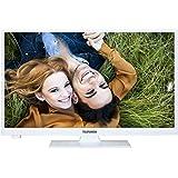 Telefunken XH24A101-W 61 cm (24 Zoll) Fernseher (HD Ready, Triple Tuner) weiß
