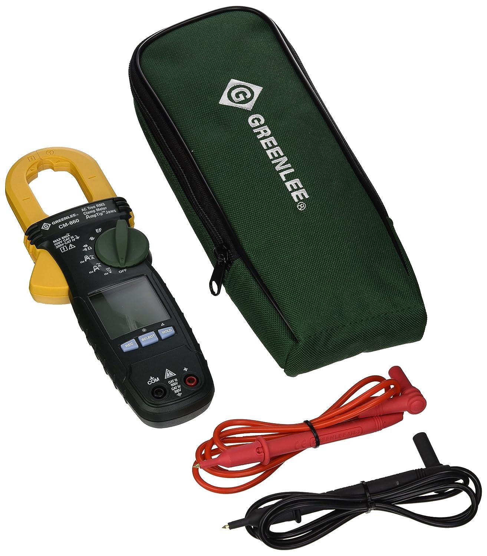 Greenlee - Medidor de abrazadera de uso general, CM-860: Amazon.es ...