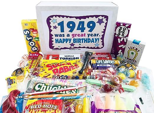 Woodstock Candy 1949 - Caja de regalo de caramelos retro ...