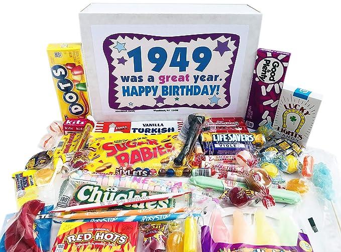 Woodstock Candy ~ 1949 70 cumpleaños caja de regalo de ...