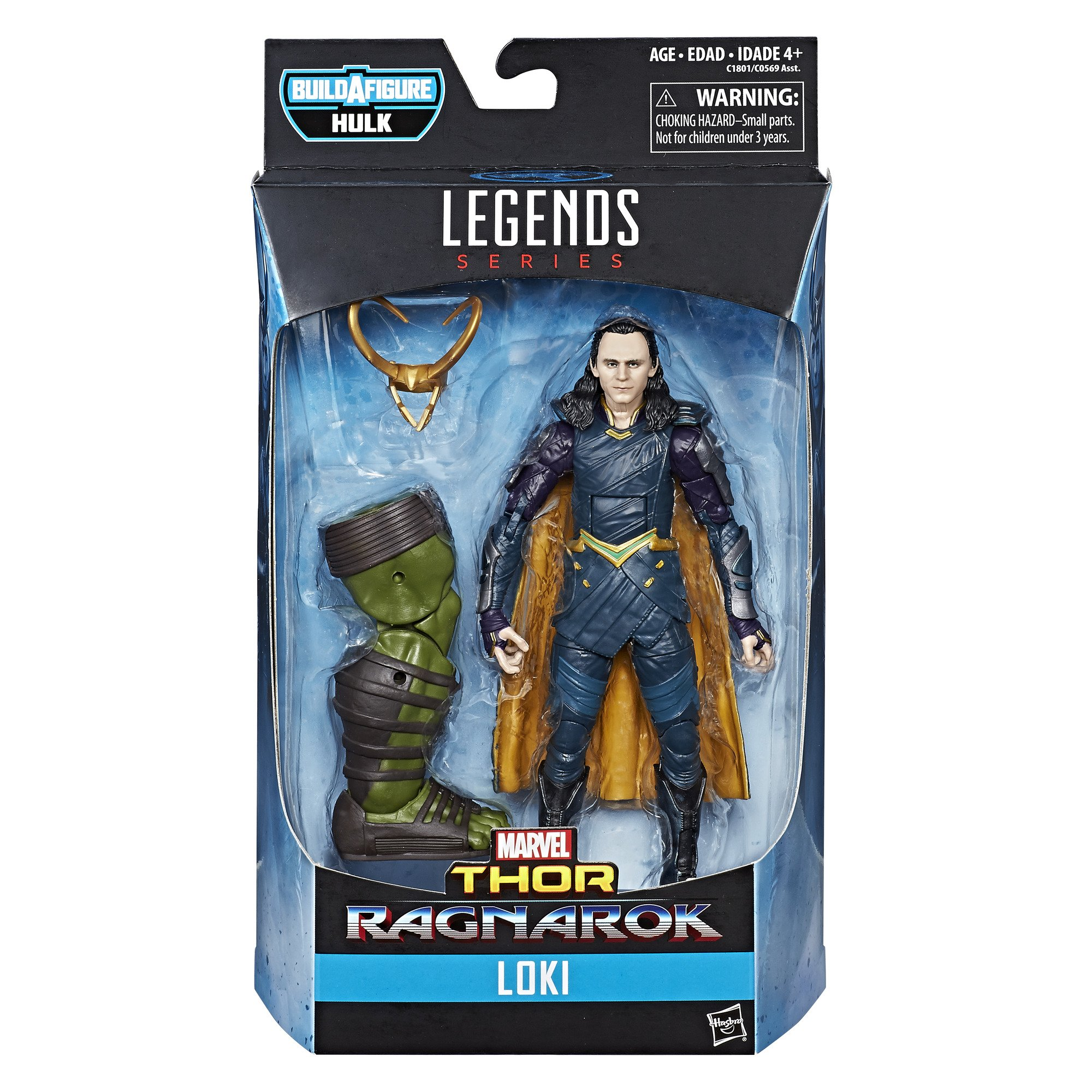 Marvel Thor Legends Series 6-inch Loki Hasbro C1801